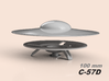 C-57D, 100 mm diameter (2 pieces) 3d printed top and bottom