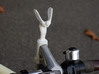 Spirit of Ecstasy Bicycle Ornament 3d printed Add a caption...