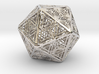 Icosahedron Unique Tessallation 3d printed