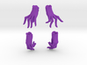 Relaxed and Playful Gloves Set 3d printed