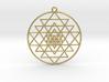 Sri Yantra Pendant Symmetrical  3d printed