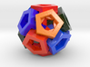 Pentagonal Crystals 3d printed