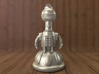Tom Servo Keychain 3d printed Here is a render of the model.  Actual print will show print lines.
