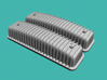 1/25 Ford Y-block Valve Covers, Ribbed 3d printed