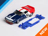 1/32 Scalextric AMC Javelin Chassis for Slot.it SW 3d printed Chassis compatible with Scalextric AMC Javelin body (not included)