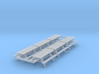 N Scale 6x Picnic Bench 3d printed