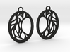 Meliae earrings 3d printed