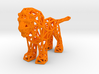 Lion (adult male) 3d printed