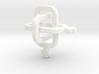 female/female Borromean rings 3d printed