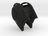 Ear Protection 2pc attaches to Airsoft Mesh Mask 3d printed