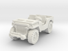 Jeep airborne scale 1/87 3d printed