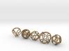Platonic Spheres 3d printed