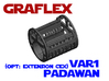 Graflex Padawan Var1 - Extension CEx 3d printed