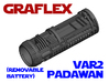 Graflex Padawan Var2 - Lightsaber Chassis  3d printed