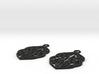 Stream earrings 3d printed