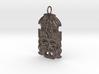 Mayan Mask Pendant 3d printed