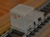 HO-Scale Small Speeder & Trailer 3d printed Production Sample #1