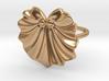 Seashell Fan Ring 3d printed
