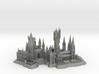 1/1800 Hogwarts 3d printed