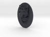 Dog Face + Half-Voronoi Mask (001) 3d printed