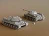 IS-3 Heavy Tank Scale: 1:200 3d printed