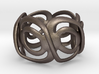 Incan Eyez Ring 3d printed