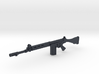 FN FAL 1:18 scale 3d printed