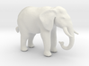 N Scale African Elephant 3d printed This is a render not a picture