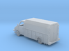 MOW Service Van Box Bed 1-87 HO Scale  3d printed