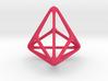 Triakis Tetrahedron 3d printed