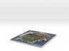 Gran Canaria Map, Canary Islands - Medium 3d printed