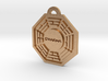 Lost, Dharma Initiative keychain decoration 3d printed