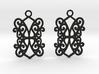 Ealda earrings 3d printed