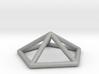 0722 J02 Pentagonal Pyramid E (a=1cm) #1 3d printed