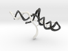CRISPR gRNA and Target DNA 3d printed