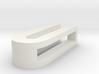 CHOKER SLIDE LETTER U 1⅛, 1¼, 1½, 1¾, 2 inch sizes 3d printed