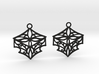 Adalina earrings 3d printed