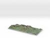 Ireland: Carrauntoohil Region Map 3d printed