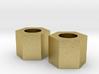 Orginal Brass Nut Custom for C-300 3d printed