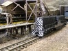 Baldwin DT6-6-2000 Dummy N Scale 1:160 3d printed Shell With Handrails