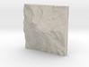 3'' Mt. Rainier, Washington, USA, Sandstone 3d printed