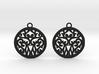 Elaine earrings 3d printed