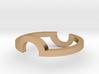 Circle Illusion Ring 3d printed