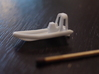 RHIB with engine (1:200) 3d printed RHIB in detail view