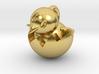Hatching Chick Emoji Pendant 3d printed