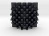 Checkerboard Mask + Nefertiti Face (001b) 3d printed