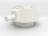 Japanese WWII SE-RI Turret 1/72 for Recovery Tank  3d printed