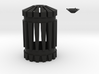 Battlestar Galactica blaster top with optional tip 3d printed