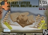 1/35 US Pistol Holster-Canteen WWII Set002 3d printed