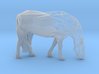 Semiwire Low Poly Grazing Horse 3d printed